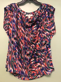 Michael Kors Large Multicolor Polyester Sleeveless Blouse RN111818. Brand new tags still on cost $99.50. Nashville, 37203