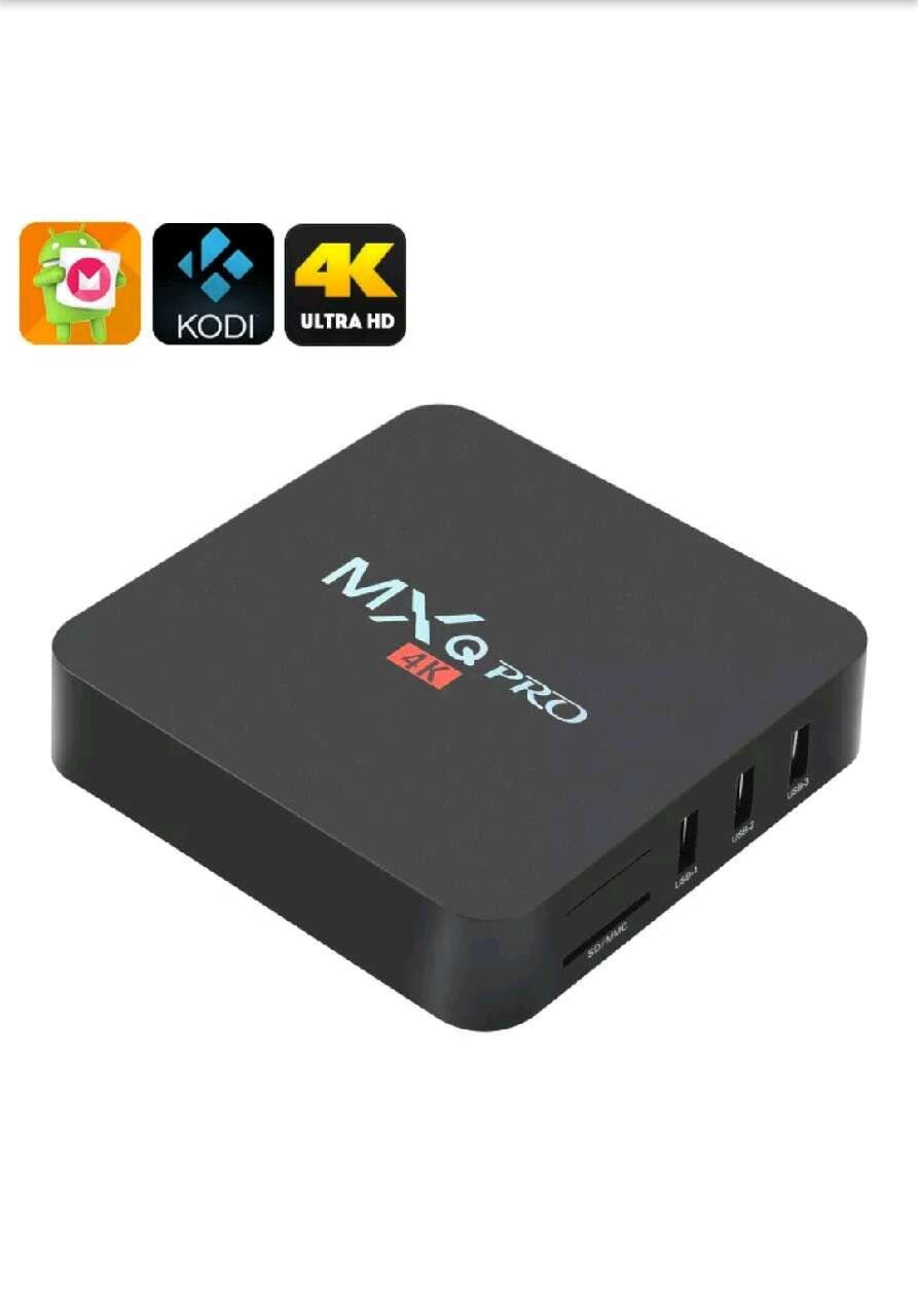 black MXQ Pro 4K TV box for sale  Bakersfield