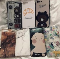 Assorted iPhone 7/8 Plus Phone Cases  Burnaby, V3N 2J2