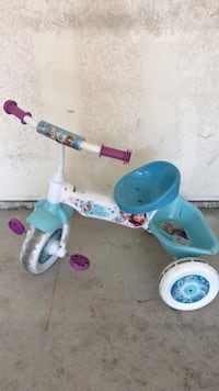 toddler's teal and white trike Huntington Beach, 92648