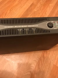 Qsc pro 1600 plx 1602 Amplifier Washington, 20024