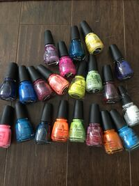 Professional nail polish collection  Innisfil, L9S 2K7