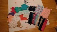 Girls lot of clothes. All size 12 months Bluff City, 37618