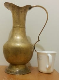 Large Brass Pitcher  Mississauga, L5N 2X2