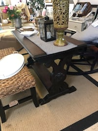 Imported French Antique Walnut Table
