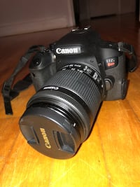 Canon Rebel T7i with accessories Montréal, H8Y 2Y7