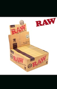 Raw king size papers  Vaughan, L4L 6B4