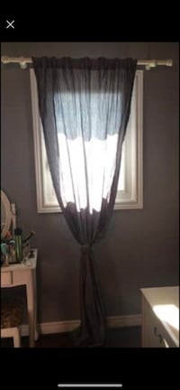 2 Grey curtains. Vaughan, L4H 1G5