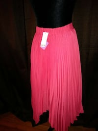 women's pink pleated midi skirt Columbia, 29203