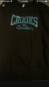 black Crooks & Castles crew-neck shirt screenshot Winnipeg, R2L 0R1