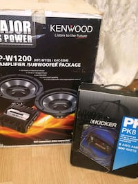 black and gray Kenwood subwoofer speaker Fort Myers, 33908