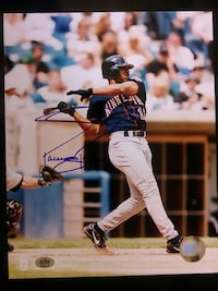 Jacque Jones Signed 8x10 Photo Minnesota Twins Sioux Falls, 57106