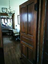 Solid antique Butler door 35 1/2 x 88 1/2..solid o