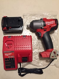 red and black Milwaukee cordless hand drill Buena Park, 90620