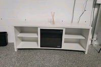 Pelting TV Stand with Fireplace Rockville