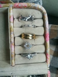 Rings package all together two diamonds Boulder Creek, 95006