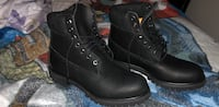 pair of black leather work boots Alexandria, 22304