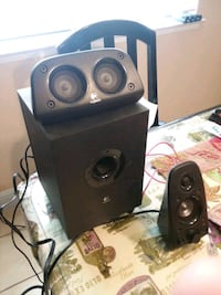 Small sub with speakers  Fresno, 93702