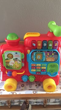 toddler's red and yellow learning toy Lake Buena Vista, 32830
