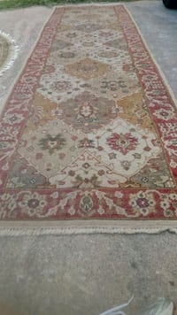 white, red, and brown floral area rug Austin, 78745