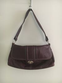 Leather - Plum Handbag