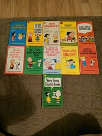 Charlie brown and Snoopy books Portage, 46368