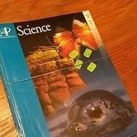 Lifepac Grade 7 Science (missing teach guide and book 8) Birmingham