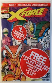 X-Force #1 (sealed in bag) - 75 copies available