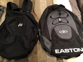 Easton and roots backpacks