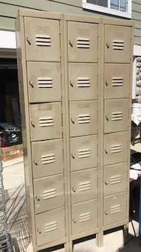 18 metal lockers Santa Barbara, 93103
