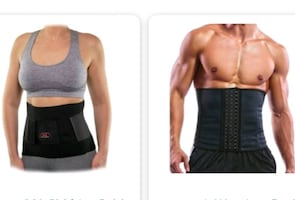 Waist trimmer brace/back & ab support