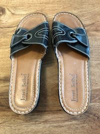 Josef Seibel leather sandals excellent condition 40 Edmonton, T6W 0E9