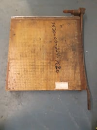 Industrial Paper Cutter rusty needs work St. Clair Shores, 48080