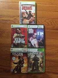 XBox 360 games 5 for $20 Mineola, 11501