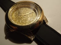 Brand New Gold Iced Watch  14 km