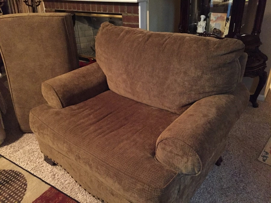 Letgo Brown Fabric Sofa Chair In Hickory Hill Tn