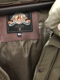 black and brown leather zip-up jacket New York, 11213