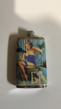 Pin up girl Flask / Novelty item  Calgary, T2W