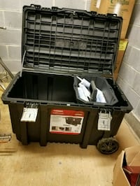 black and gray metal tool chest Fairfax, 22031