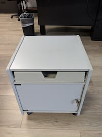 Commercial Grade Printer Stand with Locking Storage DALLAS