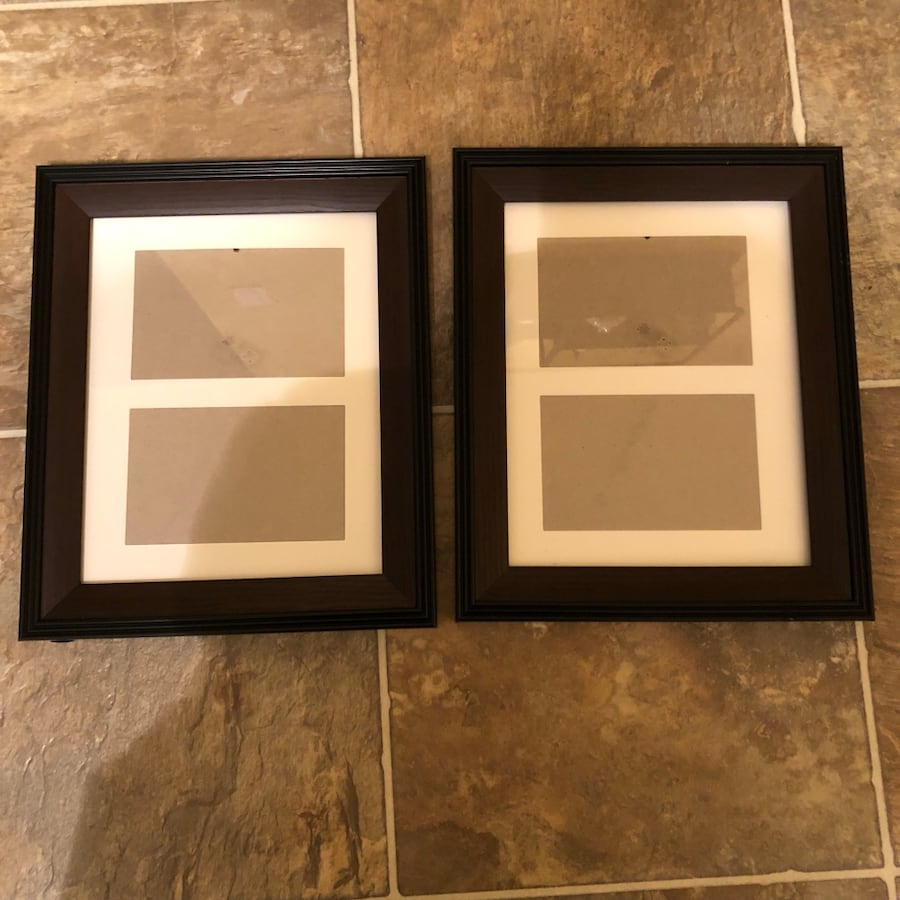 Picture frames - both for $10.00