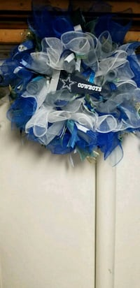 24 Inch Dallas Cowboy Team Wreath  Maryland, 20746