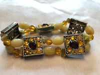 Genuine Stone and Crystal Bracelet Newmarket, L3Y 7X2