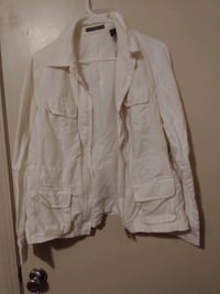 White Liz Claiborne Jacket with four pockets size  Greenville, 29605
