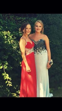 Women's red long prom dress London, N6G 4Z9