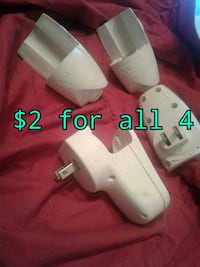 white Nintendo Wii console with controllers Calgary, T3B 0T3
