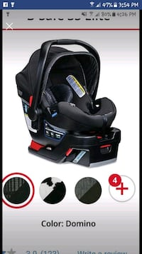 Britax infant carseat with base Centreville, 20121