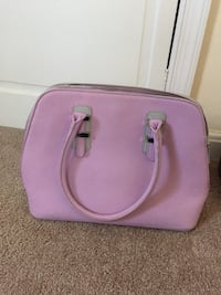 pink leather 2-way handbag Gaithersburg, 20882
