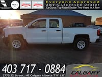 2014 Chevrolet Silverado 1500 4WD Double Cab Standard Box Work Truck W/ Single slot CD/MP3 3127 km