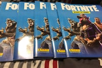 Fortnite pannini sticker album